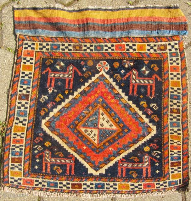 Antique Luri bagface, size: 55x50cm / 1'8'' x 1'6''