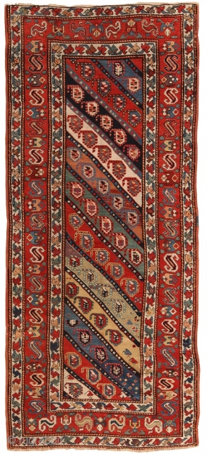 Antique Caucasian Kazak , Circa 1910's. This rug is part of our June 18th auction.This auction includes antique rugs, vintage rugs, oriental rugs and tapestry collection from all major weaving countries. The  ...