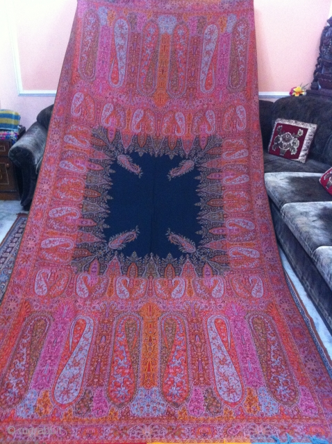 A beautiful French/Indian Paisley shawl in perfect condition and colours.