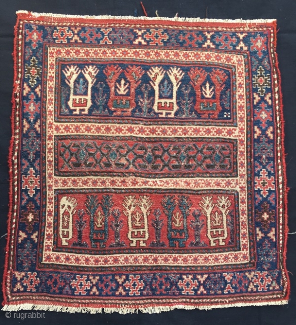 Early shasavan bag face in good condition , 63 x 60 cm