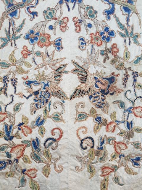 19.century Chines textile sıze 35×74
