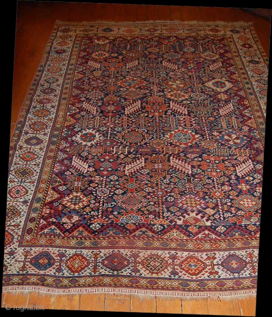 Shekarlu Qashqai ,19th c.235x172 cm .