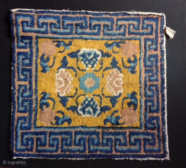 superb ningxia in great condition  with flushy long pile, top wool and colors. ca 1850