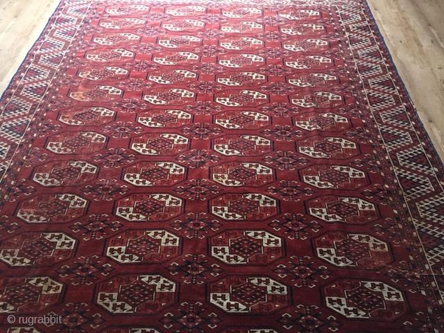 TURKMEN KIZILAYAK 2,00 BY 3,00 METER VERY FINE CARPET