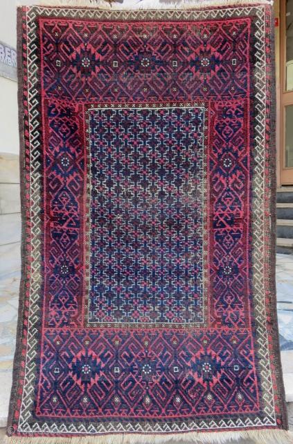 Antique Baluch Rug Size.135x82 Cm