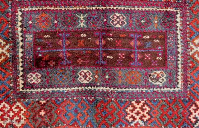 Second 19th Century East Anatolian Rug Size.188x125 Cm