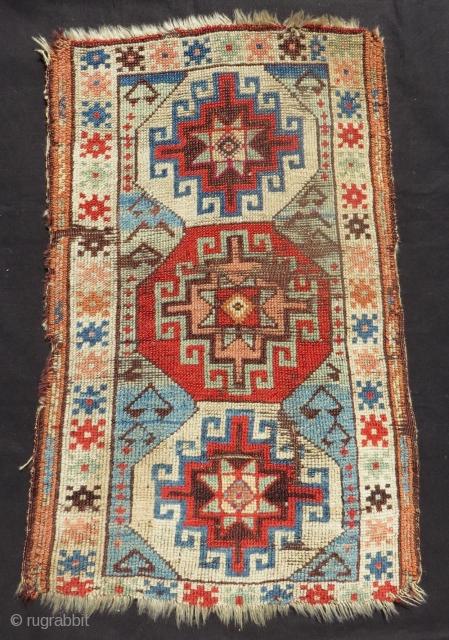 Mid 19th Century East Anatolian Sivas Yastık Size.80x48 Cm