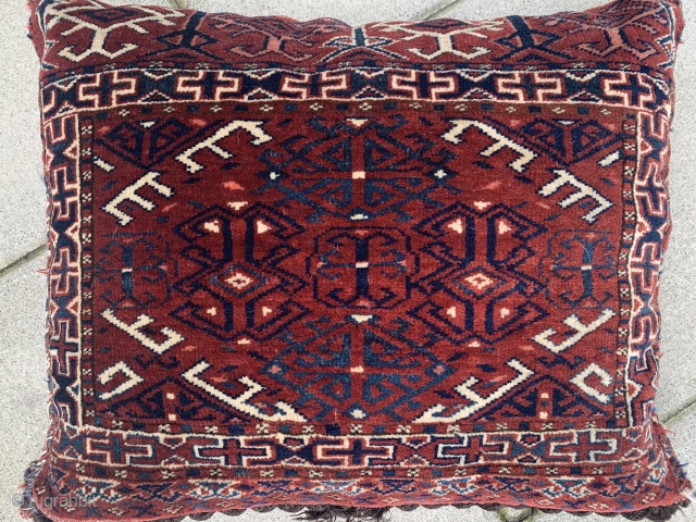 """Two Yomut Pillows from Early 20th Century   Measuring  2' x 1'5""""  Shipping is not included in the price"""