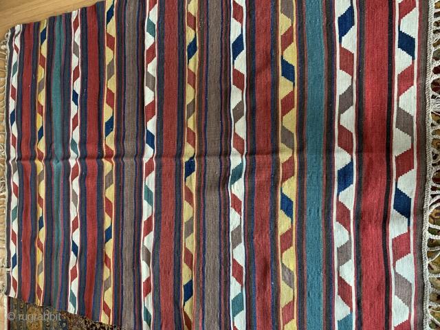 Shahsevan kilim Measuring  size 218 X 160 cm