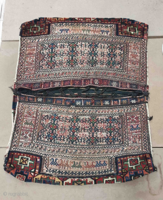 Authentic Bakhtiary khorjin in excellent condition.