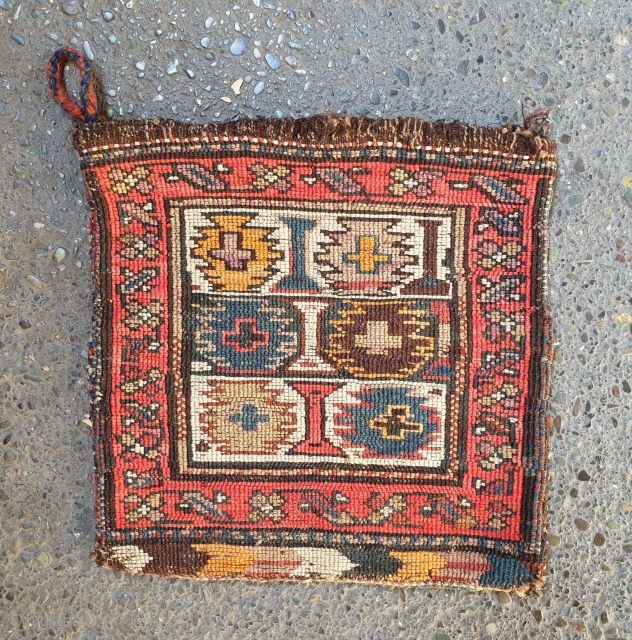 Morvarid baf shahsavan tubreh Early 20th century  Excellent condition  , some synthetic dyes