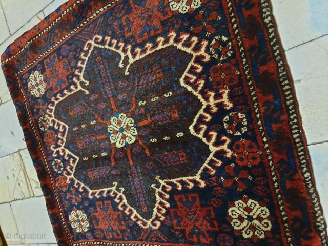 Rare khorjin of mish mast of veramin luri so fine , excellent condition ,circa 1920