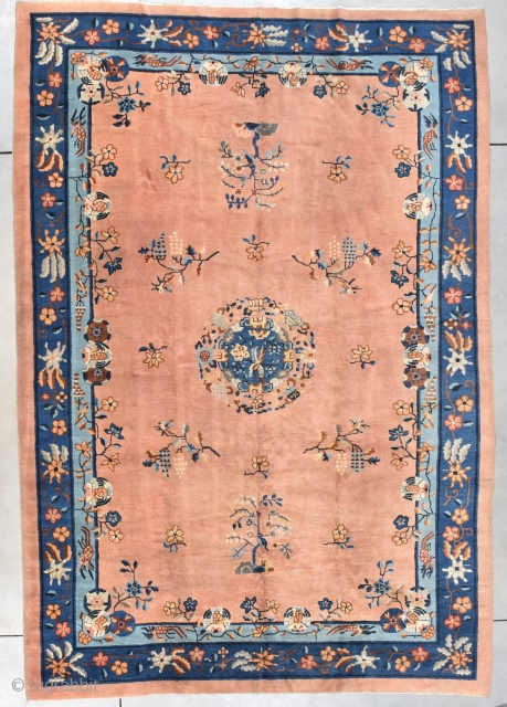 Antique Peking Chinese Oriental Rug  #7924