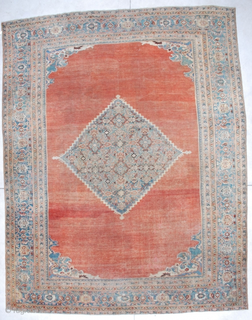 #6705 Mahal Antique Persian Rug 