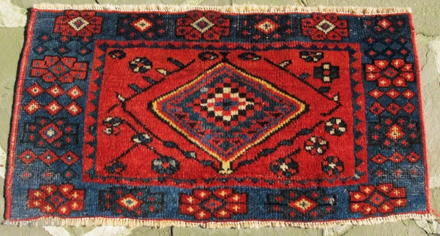 N. Persian pile mafrash with wonderful colors in excellent condition, 19th. century, 36'' X 18''(92 X 46 cms)