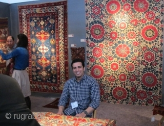 Caskey Lee's Tribal & Textile Art Show, San Francisco 2013, Some Rug & Textile Highlights