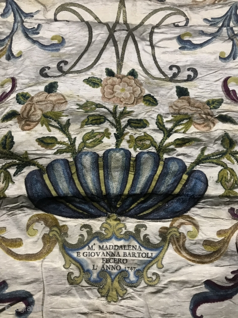 Mid 18th C Italian Textile
