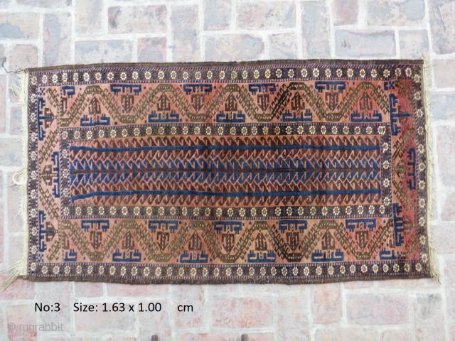 E20thC Belouch rug