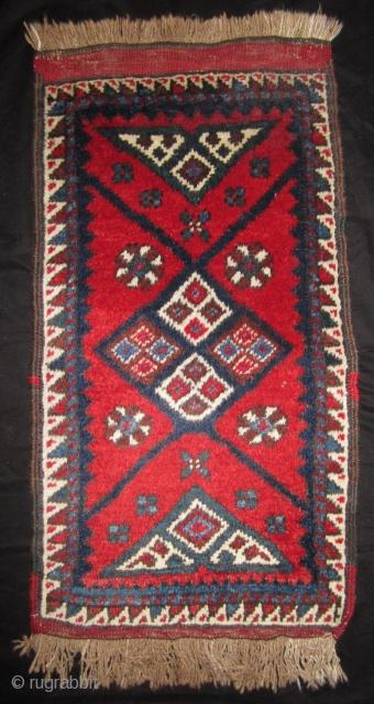 Dösemealti yastik Dösemealti area, SW Anatolia 45 x 85 cm mint condition. Mix of natural and synthetic colours Mid 20th cent.