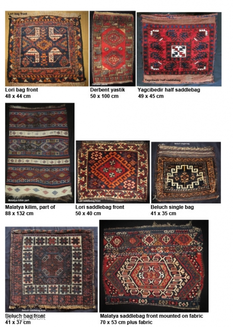 A number of small textiles for sale. I don´t need any profit because I shall move to another apartment and need some space. Please make an offer for one or more.  More info or photos  ...