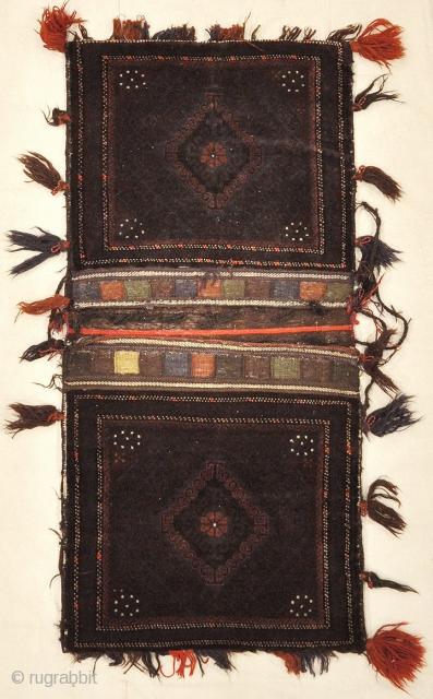 """Antique Beluch Saddle Bag 2'7"""" x 5'5"""""""