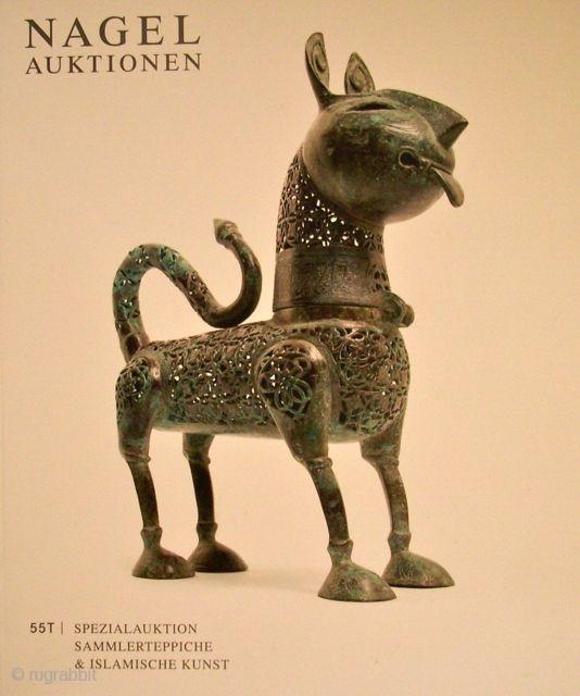 Konvolut Nagel Carpet Auction Catalogues