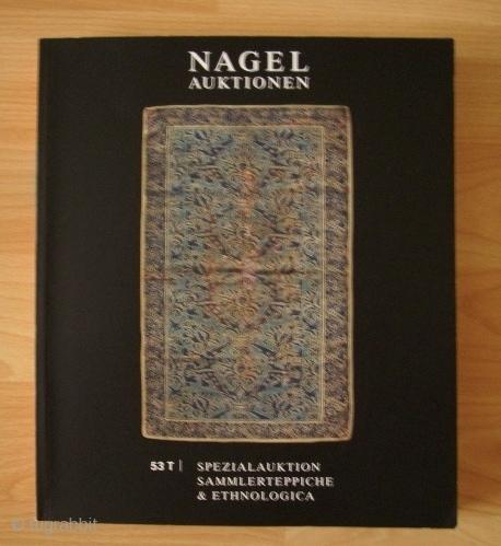 Nagel-Katalog, 53 T Teppichspezialauktion