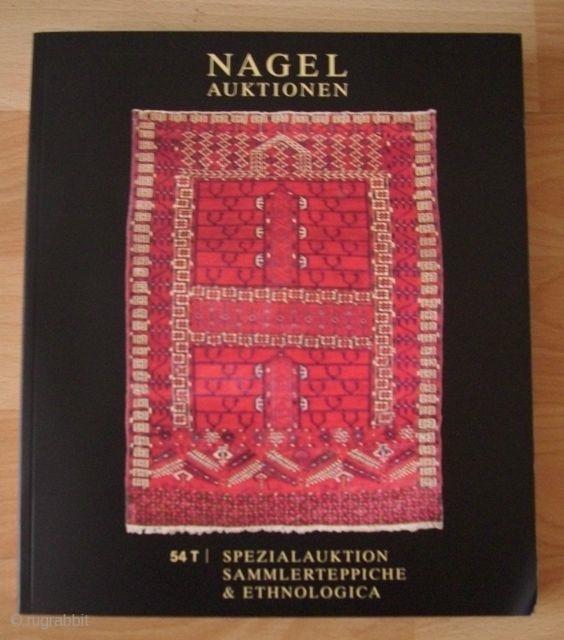Nagel auctioncatalogue collectors carpets 54 T 16. März 2010
