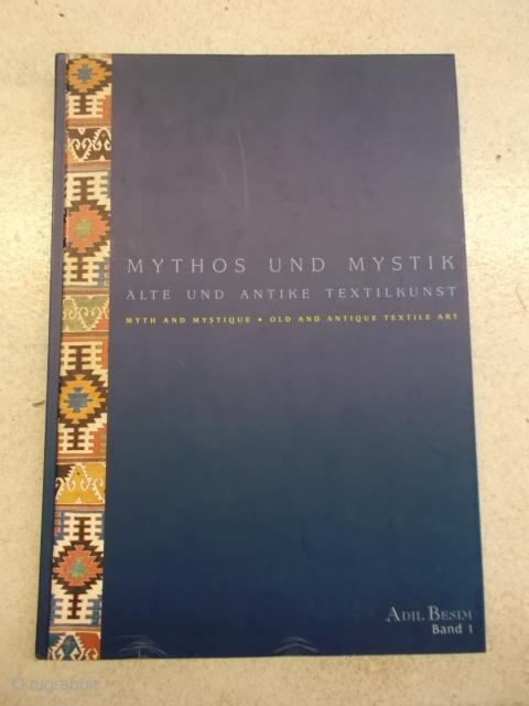 Adil Besim: Mythos und Mystik, Alte und antike Textilkunst Band 1, Einband beschädigt