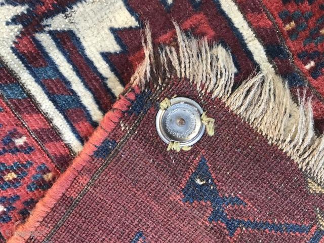 Oooold Yomud Tauk Nuska Main Carpet Fragment