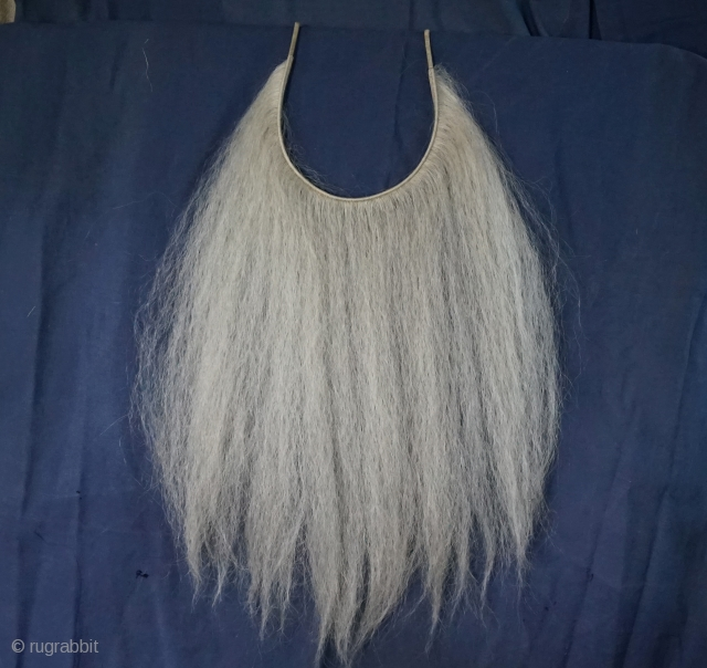 TRADITIONAL CHINESE OPERA BEARD made from Yak tail hair. 