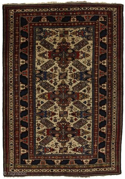 Shirvan - Antique Caucasian rug     Age: 80-100 years old     Size:186x120 cm   Info  https://www.carpetu2.com  carpetu2@gmail.com