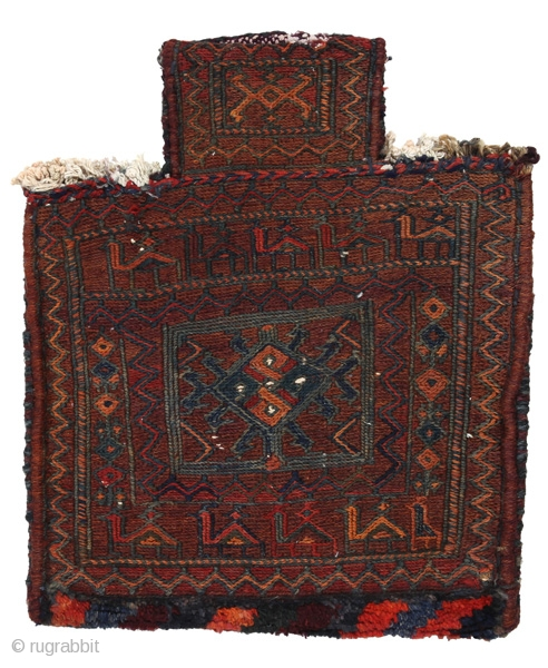 Bakhtiari - Saddle Bag Persian Textile 44x36cm. See more details https://www.carpetu2.com