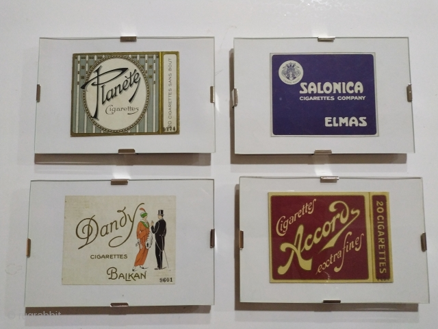 Over 200 pieces collection of cigarette packages. Over 100 years. Ask for more, Send us a quote, email:info@carpetu2.com