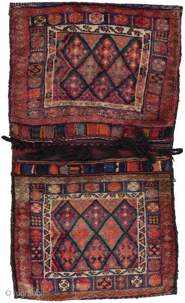 Antique Persian Jaf Saddle Bag . Over 80years. More info https://www.carpetu2.com/