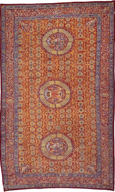 "Lecture in La:  Saturday, October 26, 2019: ""Sacred Surfaces: Carpets, Coverings and Mesas in the Colonial Andes"" with Elena Phipps, Former Textile Conservator, Curator and Educator, Metropolitan Museum of Art, New  ..."