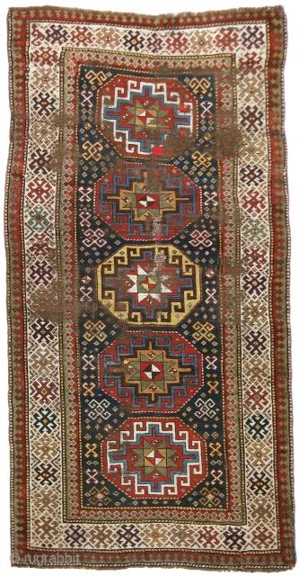 Kazak Rug, 4'5 x 8'6. (Inventory Number 293.) Specially priced for RugRabbit.com...