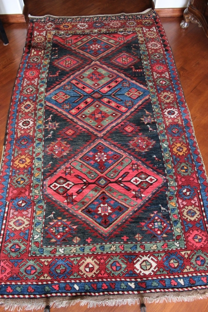 A 1930s Karabagh Rug In Great Condition Full Pile No