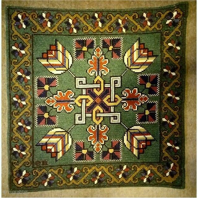 Swedish cross stitch, size: 58*56 cm, wall hanging.