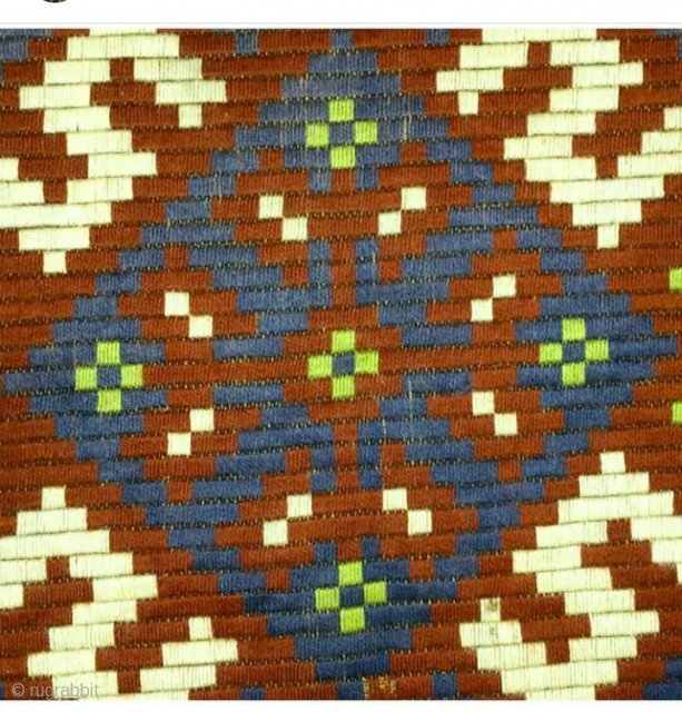 Swedish embroidery wool on linen, size: 97*60cm