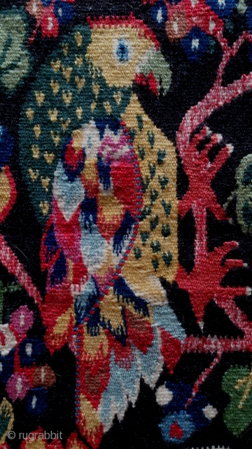 Swedish kilim, pictorial design, no: 312, size: 50*51cm, wall hangings .