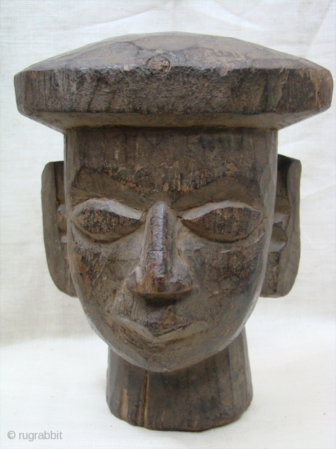 Wooden Puppet Head.