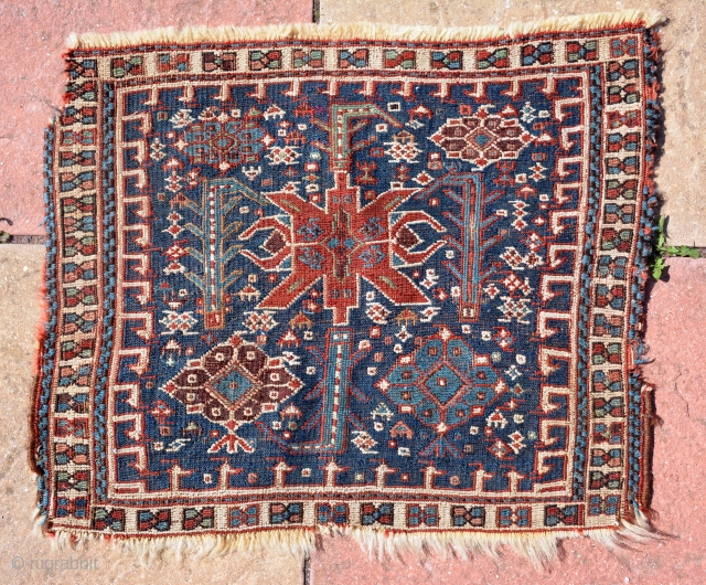 Beautiful Bird heads Bakhtiyar? sumack bag 