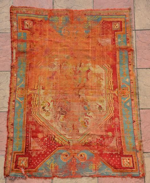 Turkish rug(?) size is185 x 135 cm