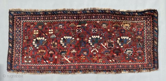 Antique classic Khamseh ? Chuval, end 19th century. Size is 146 x 63 cm