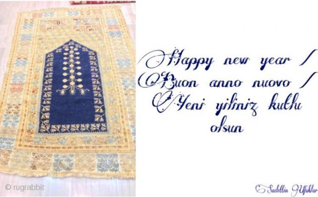 Happy new year Buon anno nuovo  Yeni yiliniz kutlu olsun
