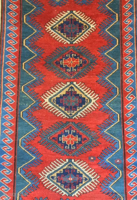 antique caucasian  kazak borjalu  cm 1.60 x 1.15  1880 circa