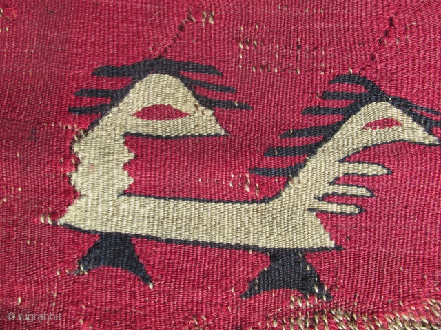 Antique sarkoy ( sharkoy ) prayer kilim.