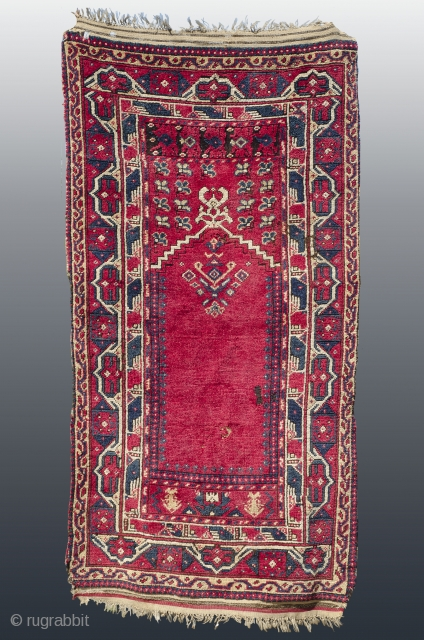 Antique Algerian rug 