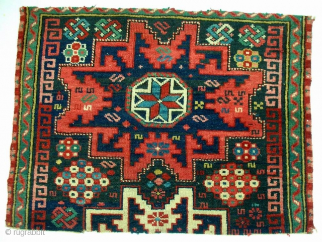 Daghestan rug fragment, NE Caucasus, late 19th century, cm 61x80.